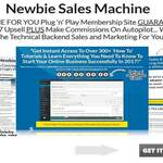Newbie Sales Machine Full Review