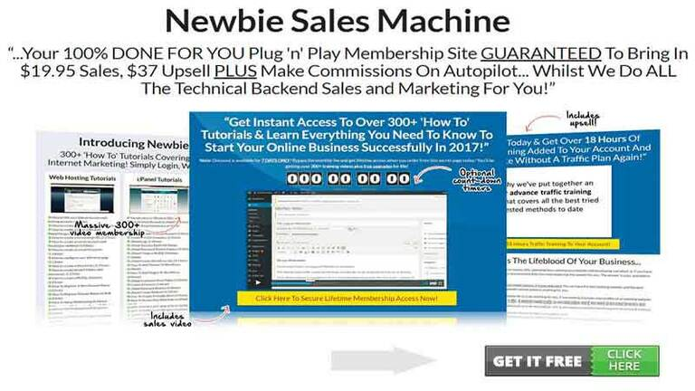 Newbie Sales Machine Review
