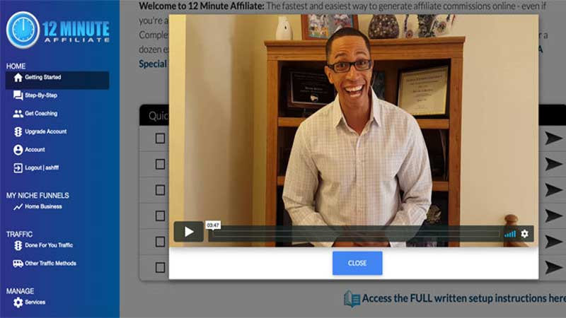 12 Minute Affiliate Review, Health Supplement Hub