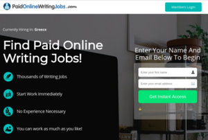 Writing Jobs Online Review, Health Supplement Hub