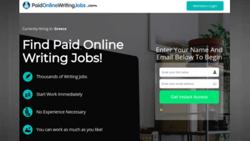Paid Online Writing Jobs Review, Health Supplement Hub