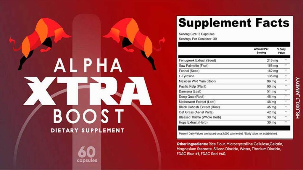 Alpha Xtra Boost is a nutritional supplement
